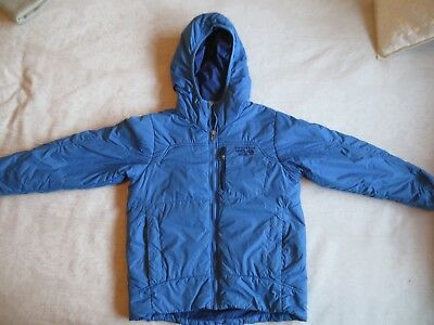 Mountain Hardwear lightweight puffer polyester insulated jacket blue Youth Sz Sm
