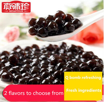 Tapioca Pearls High quality Bubble Black and Colour for Bubble tea drink 500g
