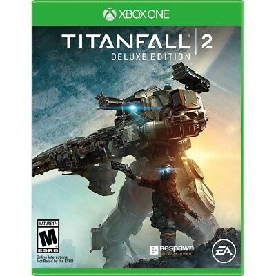 Titanfall 2 DELUXE Edition (Xbox 1 One) *****BRAND NEW & FACTORY SEALED***** xb1