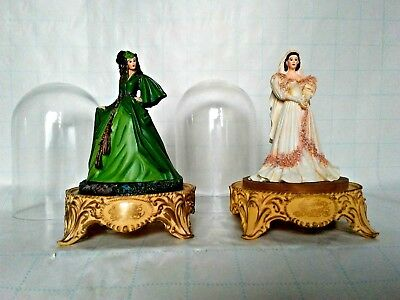 Gone With The Wind Scarlett's Betrothal And Deception Limited Franklin Mint