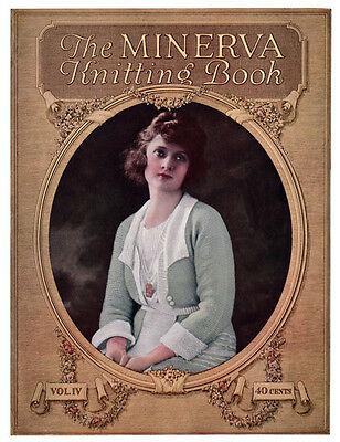 Minerva #4 c.1920 Vintage Knitting & Crochet Fashion Patterns for Entire Family