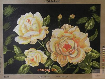 Yellow Roses Tapestry To Stitch