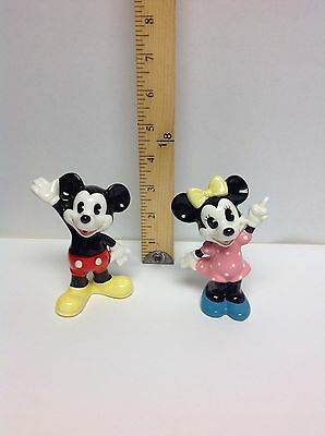 Mickey and Minnie Mouse Disney Figurines Japan