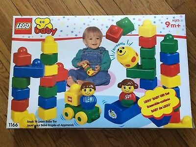 Lego Baby Gift Set 1166 Stack 'N Learn Baby Toy