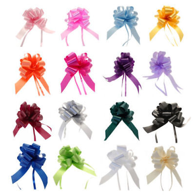 20pcs x 50MM LARGE PULL BOWS QUALITY WEDDING CAR GIFT WRAP PARTY BULK BUY