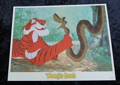 Walt Disney's The Jungle Book lobby card # 3 (90's Reissue Lobby Card)