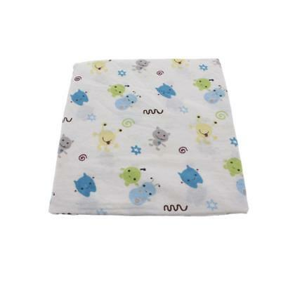 CoCaLo Baby Peek-a-Boo Monsters Blue Baby Boy Crib Sheet Bedding BHFO 2193