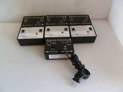 Lot Of 7 Skutch Mix T-21P & As-4A Telephone Line Simulator / Audio Coupler