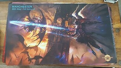 Mtg playmat Manchester grand prix  great condition
