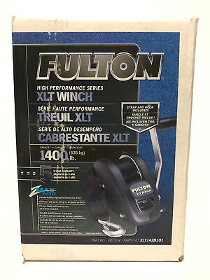 Fulton High Performance Series XLT Winch 1400 lb 20' Strap & Hook Included