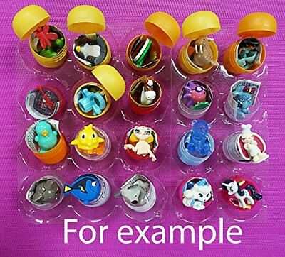 20psc girls 20 pieces for girls Amazing egg shell shell capsule egg party toy