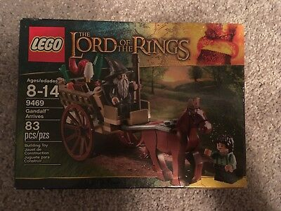 LOT Lord of the Rings LEGO ✰ #9469 #9473 Mines Moria Gandalf Returns New Retired LEGO Bau- & Konstruktionsspielzeug