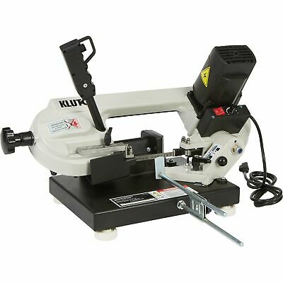 Klutch Benchtop Metal Band Saw - 3in. x 4in., 1 1/3 HP, 120V Motor