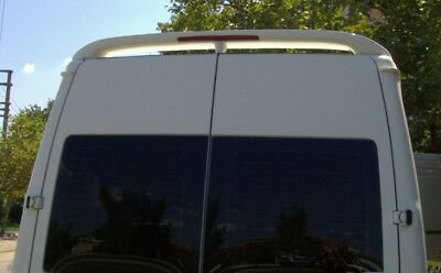 Ford TRANSIT  BARN DOOR 2003-2014  Door Rear  Spoiler   PRIMED MEDIUM ROOF ONLY