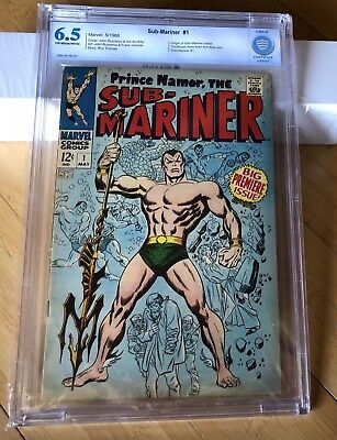 PRINCE NAMOR THE SUB MARINER #1 CBCS 6.5. OFF WHITE/WHITE PAGES! Not CGC
