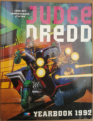 JUDGE DREDD Yearbook 1992 - Year  1992 - UK Fleetway Annual Book