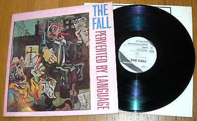 THE FALL - PERVERTED BY LANGUAGE LP - Mark E Smith - 1983 Rough Trade Original