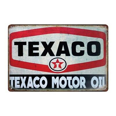 Metal Tin Sign texaco motor oil Bar Pub Home Vintage Retro Poster Cafe ART
