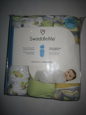 SwaddleMe Original Swaddle 3-PK, Small