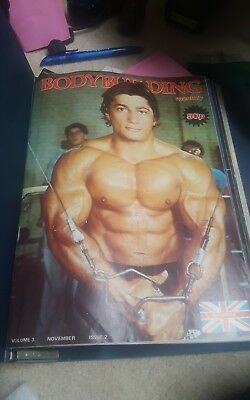 18 magazines in total vintage bodybuilding magazine