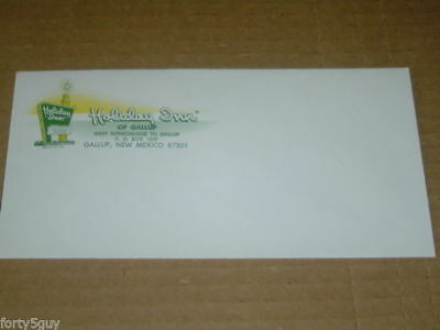 Hotel Envelope: Holiday Inn, Gallup, New Mexico - vintage late '60's!