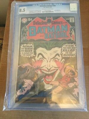 Detective Comics # 388 Batman & Joker cover CGC 8.5 High Grade