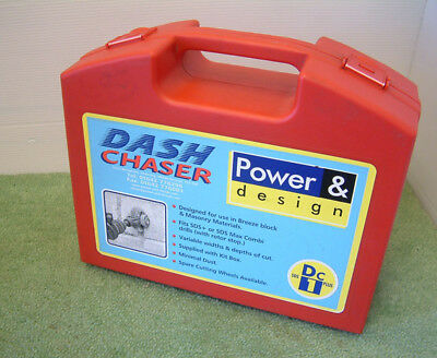 Dash Wall Chaser , Channelling Tool for SDS Plus & SDS Max