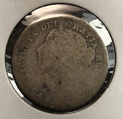 DATELESS Canada 10 Cent Silver Victorian Dime. Collector Coin For Set.