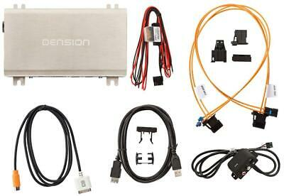 Dension Gateway 500 iPod iPhone AUX USB Interface Audi A4 A5 A6 Q7 MOST GW51AU1