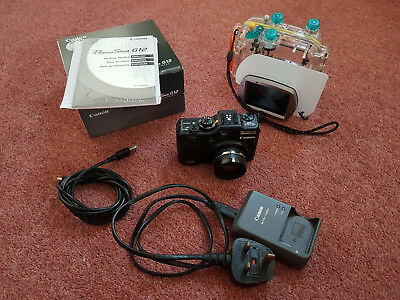 Canon G12 & WP-DC34 Underwater Camera