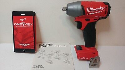 "Milwaukee 2758-20 M18 FUEL 3/8"" 1-KEY Impact Wrench Replaces 2754-20-New Product"