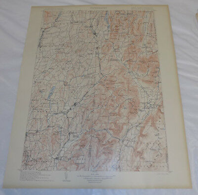 1903 Topographic Map of METTAWEE QUADRANGLE, NEW YORK/SALEM/MANCHESTER