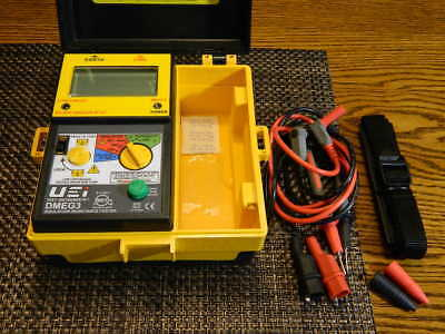 "NEVER USED UEi DMEG3 Digital Insulation Resistance Tester ""EXCELLENT"""