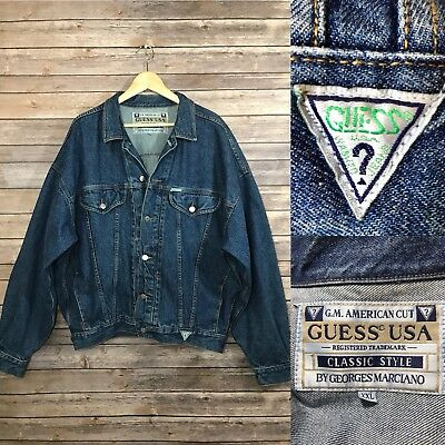 Vintage Men S 80 S 90 S Guess Georges Marciano Denim Classic Jean