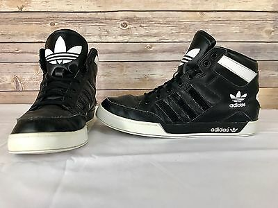 G66145 adidas Hardcourt Hi Big Logo Size 9 Men's Athletic Sneakers Sports Shoes