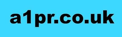 a1pr.co.uk Sought After Domain Name,  Only For the best Public Relations Company