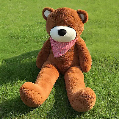Joyfay Giant Teddy Bear CE 180cm Brown Large Stuffed Plush Toy Valentine Gift