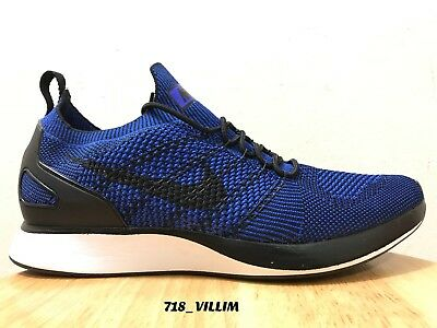 b204ab522a4d Nike Zoom Mariah Flyknit Racer Black Blue White 918264 007 Size 11.5 New  Trainer