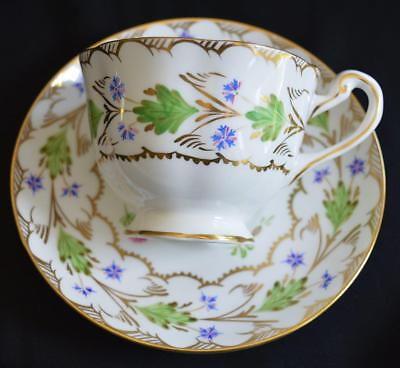 Delightful Royal Chelsea Whimsical Pattern Tea Cup & Saucer