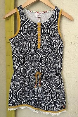 Joanna Gains Matilda Jane Tween Southern Sun Romper NWT Size 10 Sold Out