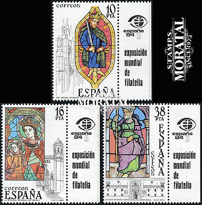 1983 Spain 0 Bandeleta stained glass Crafts **MNH Very Nice  (Scott)