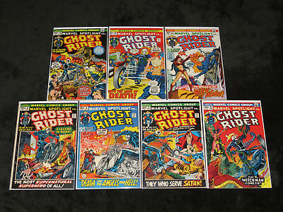 1972 Marvel Spotlight 5 6 7 8 9 10 11 Complete Run 1St Ghost Rider  App Ploog 2