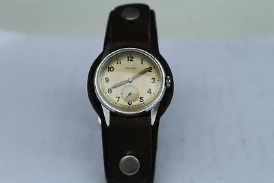 Antique Vintage Old German Made Junghans Quartz  Wrist Watch Army Cal. 80