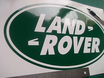 Land rover Defender Discovery oval Decal sticker Large..........x2......