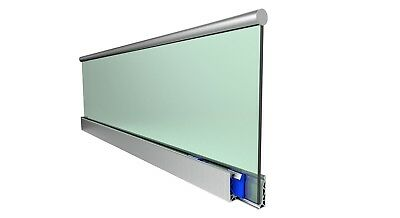 3m Length Posiglaze Channel (Suitable For 12-21.52mm Glass)