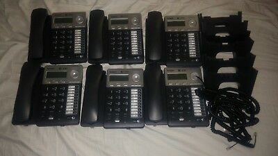 LOT of 6 ~ AT&T Model SB67025 Synapse Business VoIP Phones POE