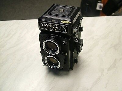 Yashica MAT-124 G TLR Film Camera with 80mm