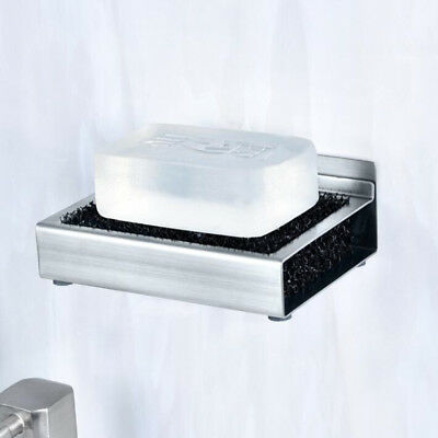 Stainless Shower Soap Box Holder Case Container Dish Storage Plate Tray