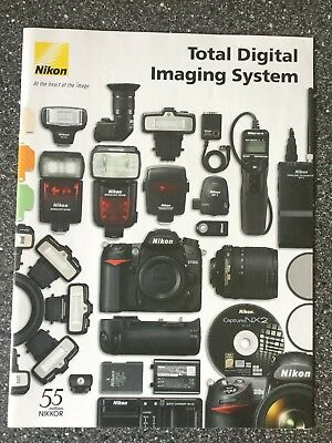 Nikon Total Digital Imaging System Prospekt
