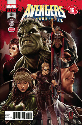 Avengers #690 Marvel Legacy - 1St Print - Bagged & Boarded. Free Uk P+P